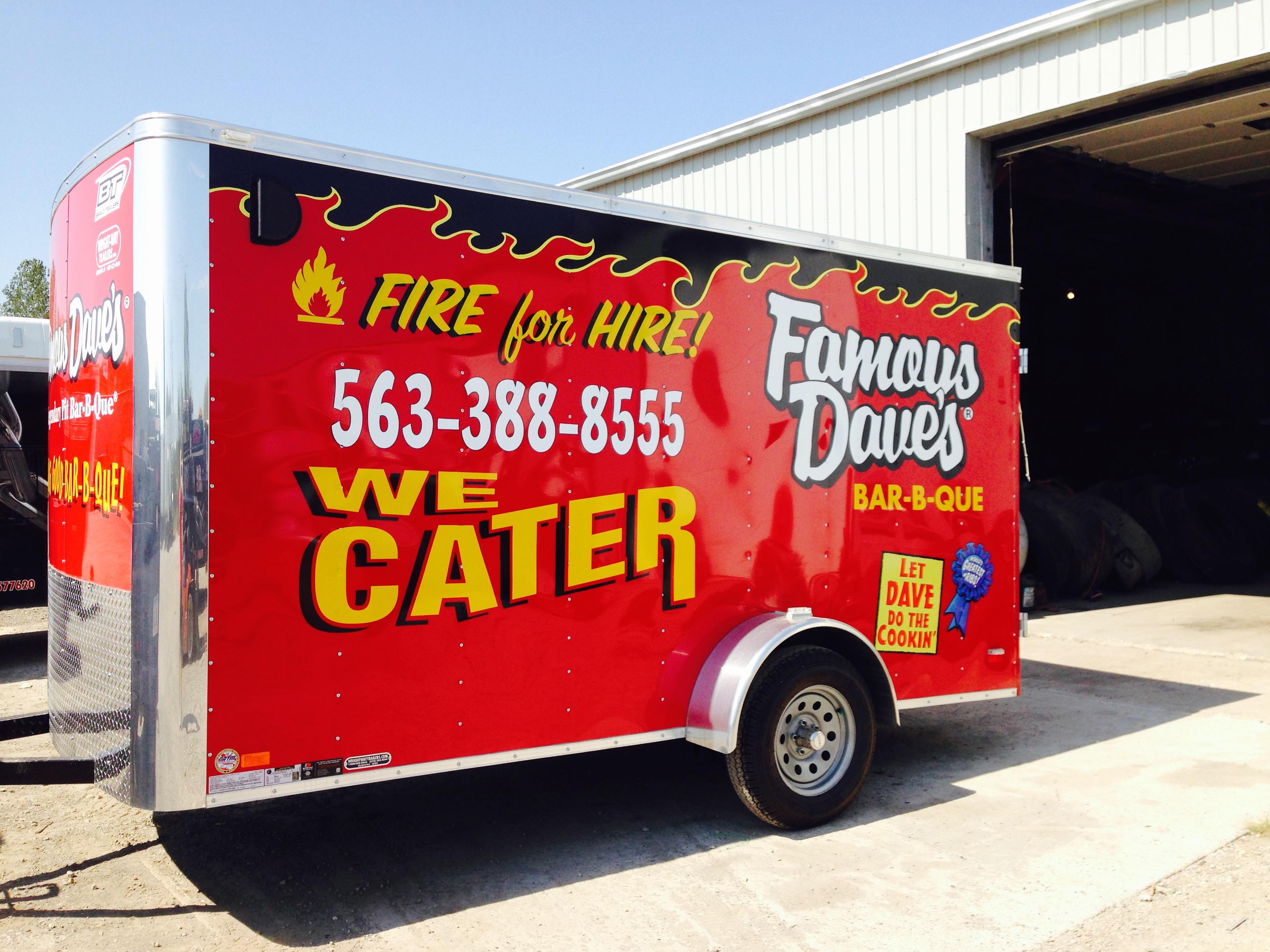 Custom Car Wraps Davenport Iowa Signs Shop Monson Tnt